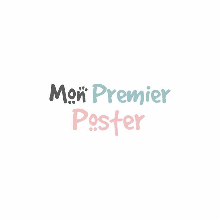 Logo Mon Premier Poster